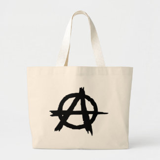Anarchy Symbol Large Tote Bag