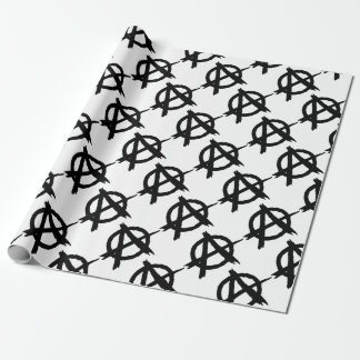 Anarchy Symbol Wrapping Paper