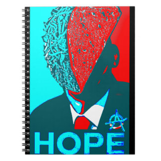 Anarchy Taco for President Notebook