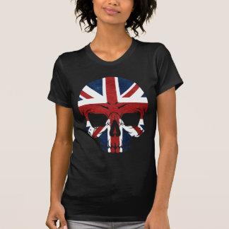 Anarchy UK Skull Flag T-Shirt