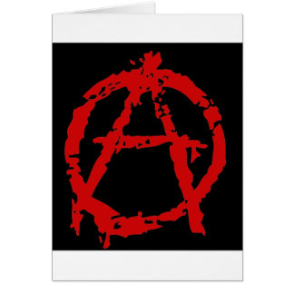 anarquia_ greeting card