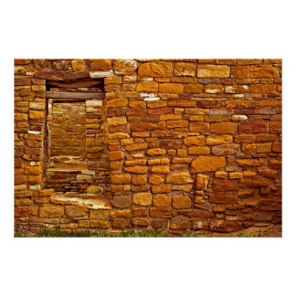 Anasazi Great House Ruins Poster