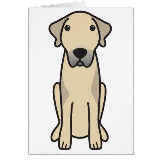 Anatolian Shepherd Dog Cartoon Note Card