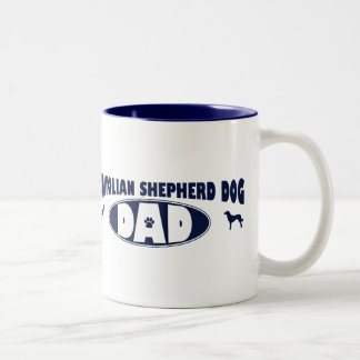 Anatolian Shepherd Dog Dad Two-Tone Coffee Mug