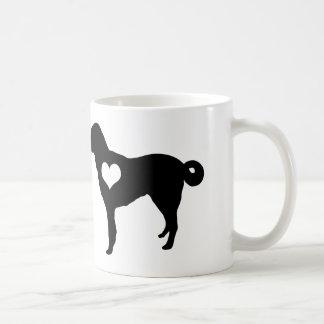 Anatolian Shepherd Dog Heart Mug