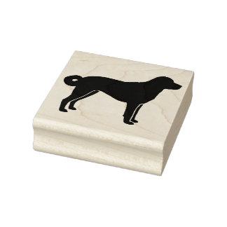 Anatolian Shepherd Dog Silhouette Rubber Stamp
