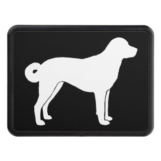 Anatolian Shepherd Dog Silhouette Trailer Hitch Cover