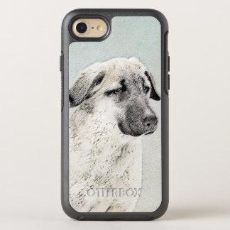 Anatolian Shepherd Painting - Original Dog Art OtterBox Symmetry iPhone 8/7 Case