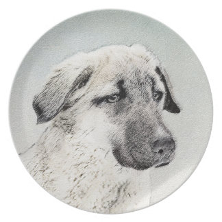 Anatolian Shepherd Party Plates