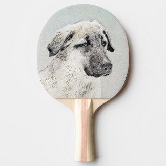 Anatolian Shepherd Ping-Pong Paddle
