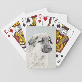 Anatolian Shepherd Poker Deck