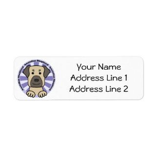 Anatolian Shepherd Return Address Label