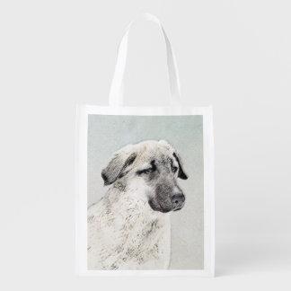 Anatolian Shepherd Reusable Grocery Bag