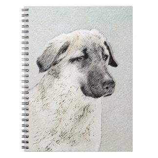 Anatolian Shepherd Spiral Notebook