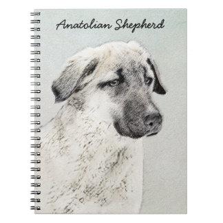 Anatolian Shepherd Spiral Notebooks