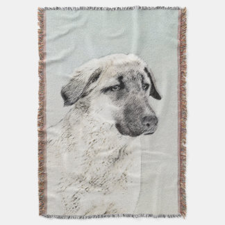 Anatolian Shepherd Throw Blanket