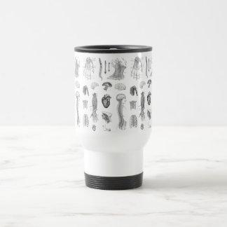 Anatomical Drawing Travel Mug