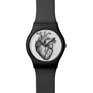 Anatomical Heart Watch Sleek