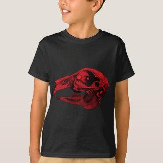 Anatomical Rabbit Skull Red T-Shirt