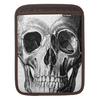 Anatomical Skull Illustration ipad Sleeve