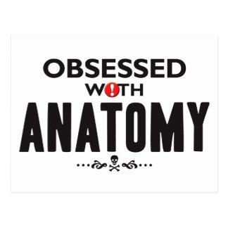 Anatomy Obsessed Postcard