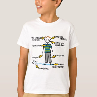 Anatomy of a 10 year old BOY T-Shirt