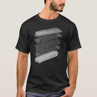 Anatomy Of A Blues Harp T-Shirt
