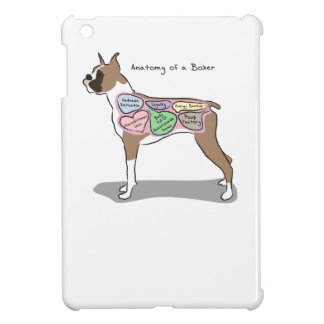 Anatomy of a Boxer Dog gifts Cover For The iPad Mini