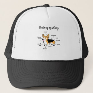 Anatomy Of A Corgi Trucker Hat