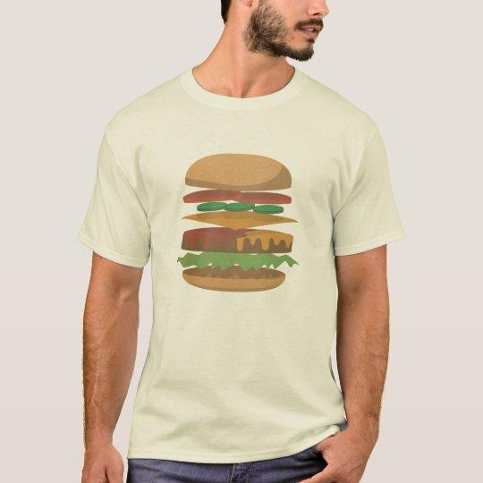 Anatomy of a Hamburger T-Shirt