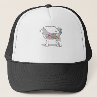 Anatomy of a Husky Apparel Trucker Hat
