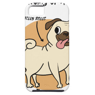 ANATOMY OF A PUG CASE FOR THE iPhone 5