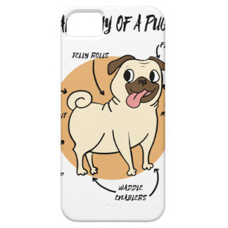 ANATOMY OF A PUG iPhone 5 COVER