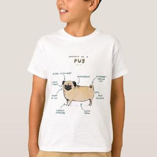 Anatomy of a Pug T-Shirt