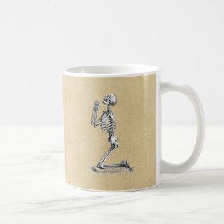 Anatomy Skeleton Illustration Coffee Mug