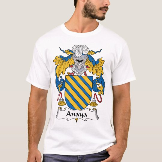Anaya Family Crest T-Shirt