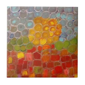 Anca Sofia Decorative Art: Sun even at the night Ceramic Tiles