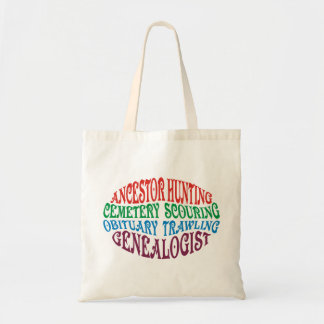 Ancestor Hunting Genealogist Tote Bag