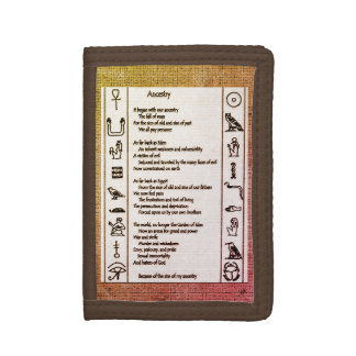 Ancestry Trifold Wallet
