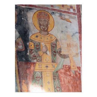 Anchient Religious Artwrok Postcard