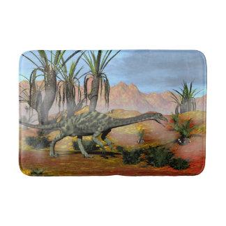 Anchisaurus dinosaur - 3D render Bath Mat