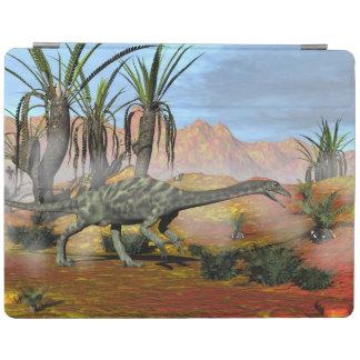 Anchisaurus dinosaur - 3D render iPad Cover