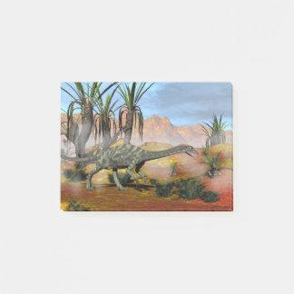 Anchisaurus dinosaur - 3D render Post-it Notes