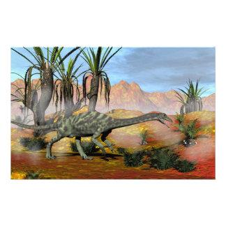 Anchisaurus dinosaur - 3D render Stationery