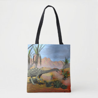 Anchisaurus dinosaur - 3D render Tote Bag