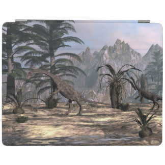Anchisaurus dinosaurs - 3D render iPad Cover