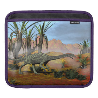 Anchisaurus dinosaurs - 3D render iPad Sleeve