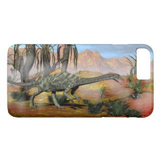 Anchisaurus dinosaurs - 3D render iPhone 8 Plus/7 Plus Case