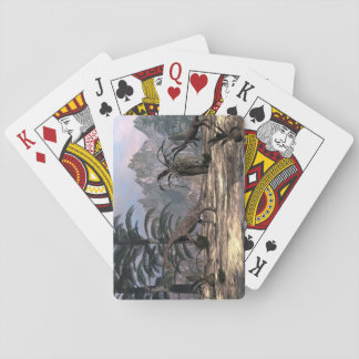 Anchisaurus dinosaurs - 3D render Playing Cards