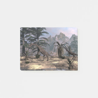 Anchisaurus dinosaurs - 3D render Post-it Notes